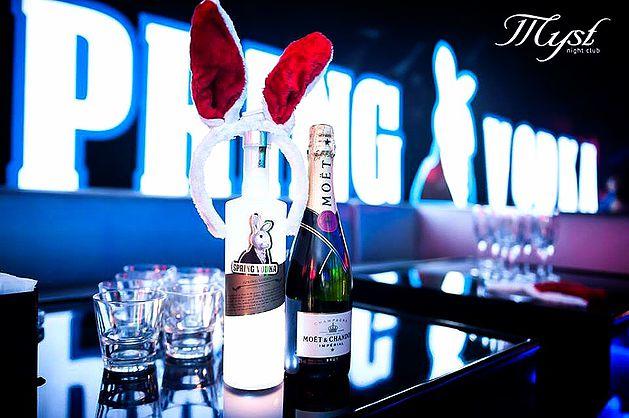 spring vodka 兔兔伏特加酒吧活動